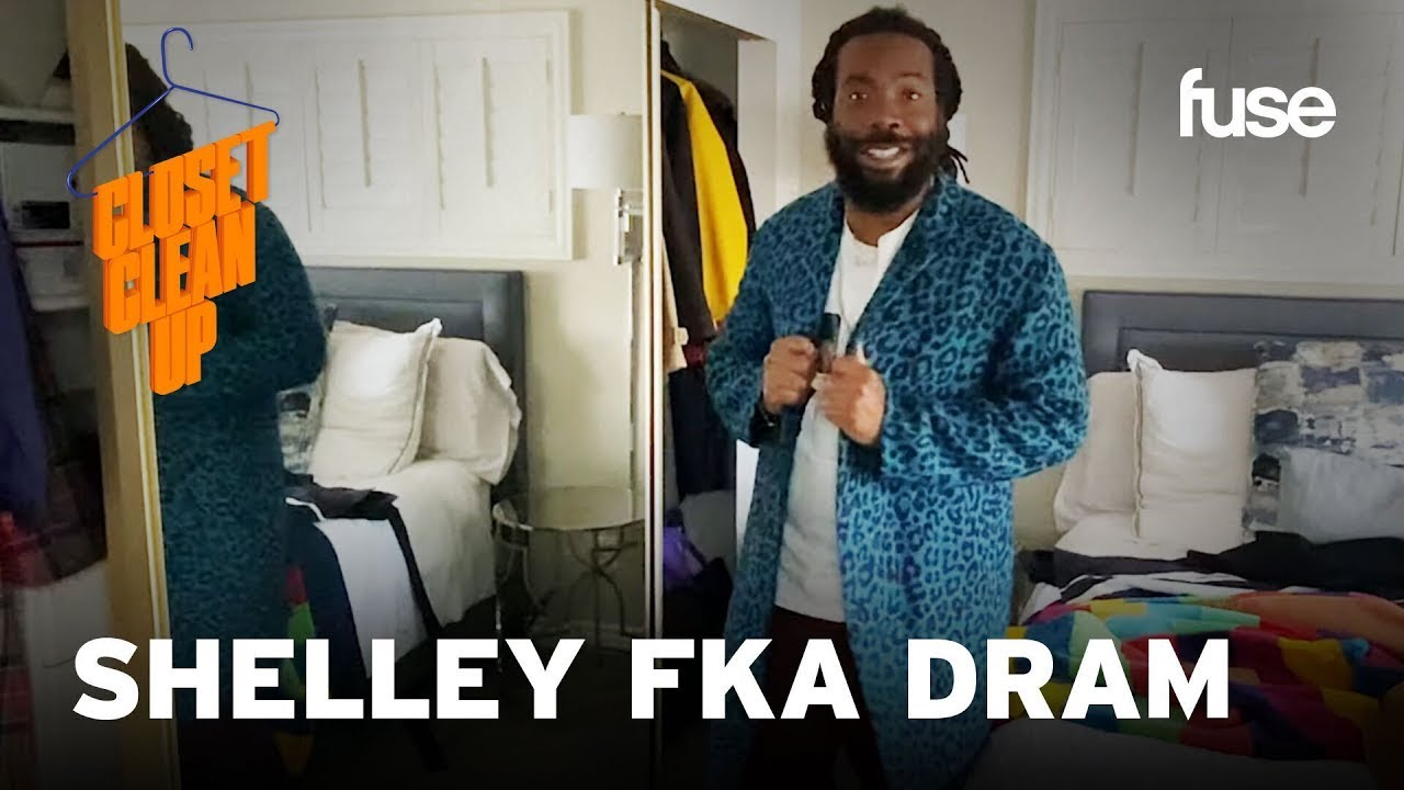Shelley FKA DRAM Cleans Out & Shares Luxury Pieces In His Closet | Closet Cleanup | Fuse