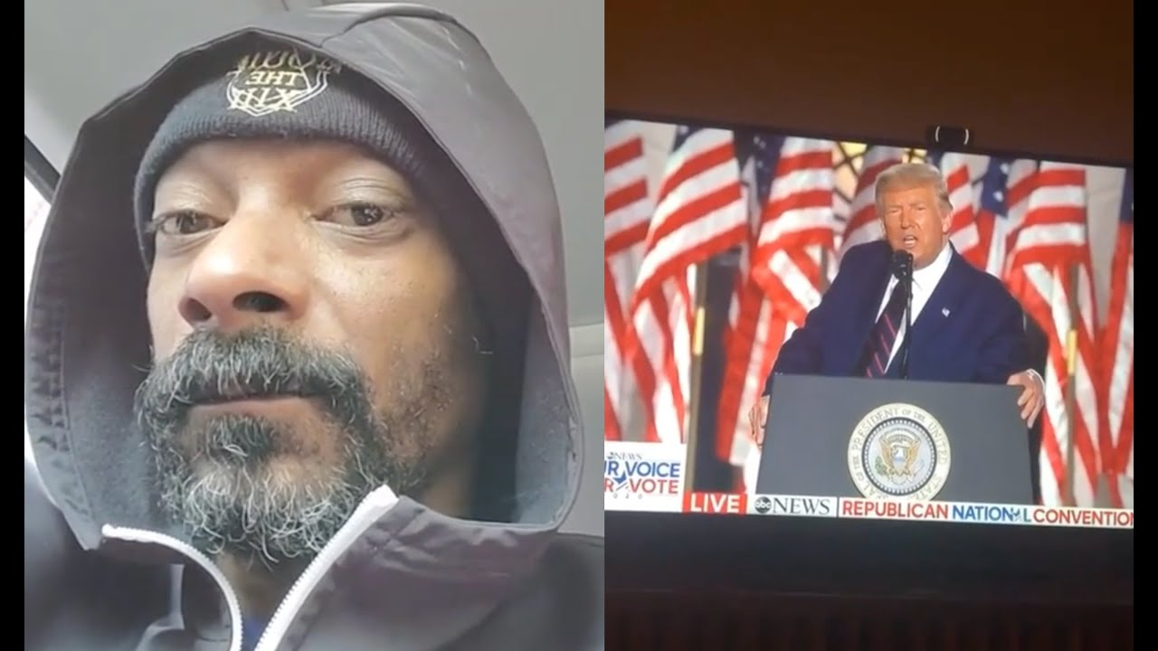 Snoop Dogg ROAST Donald Trump Hair Piece After Watching Republican National Convention