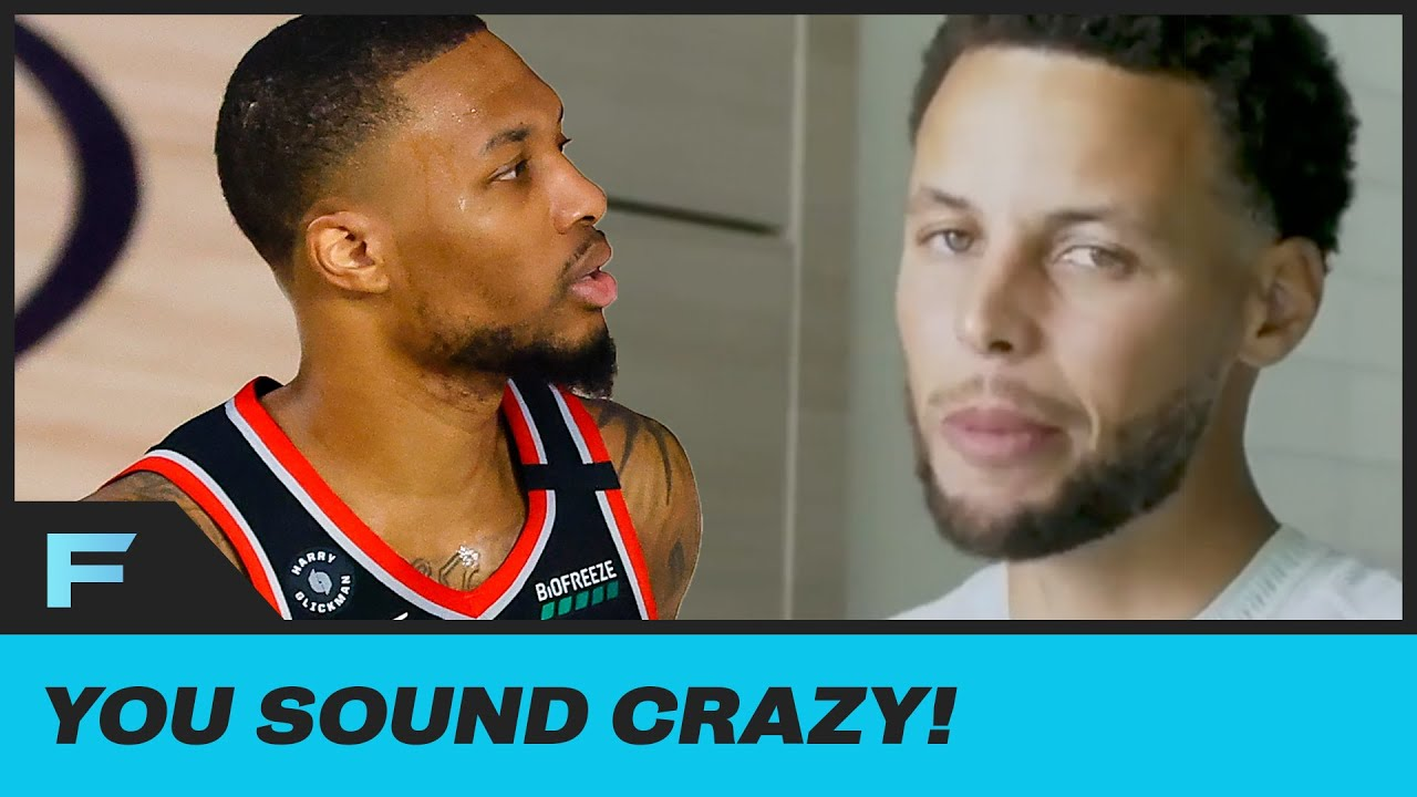 Steph Curry Claps Back At Kenny Smith Saying He Doesn't Have The Same Shooting Range As Dame Lillard