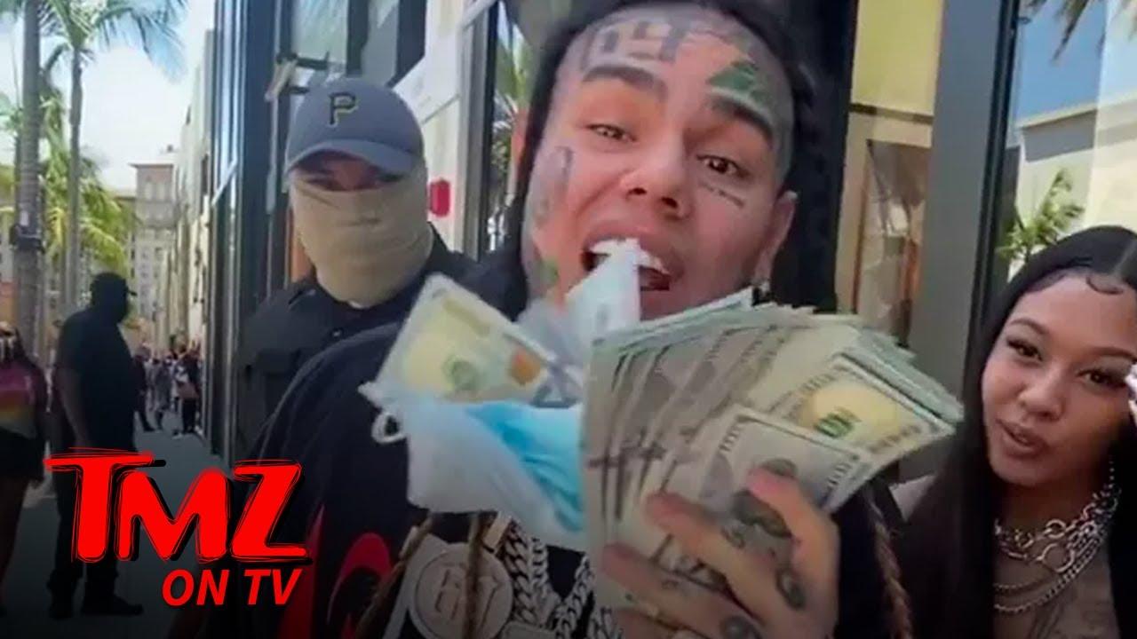 Tekashi 6ix9ine Gets Heckled In L.A. | TMZ