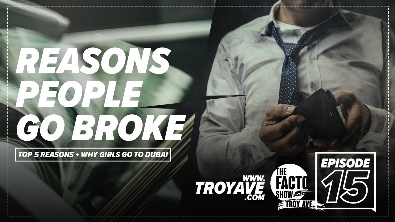 """THE FACTO SHOW (CLIPS) """"Top 5 Reasons People Go Broke"""" Episode 15"""