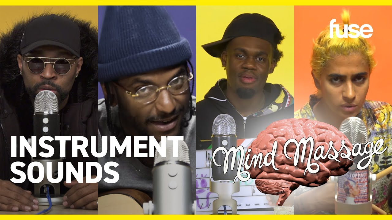 The Most Satisfying Instrument Sounds of ASMR: Guitars, Chimes, Singing Bowls | Mind Massage | Fuse