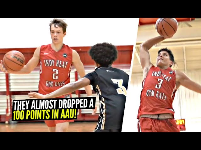 They Scored Damn Near 100 POINTS!! Gabe Cupps & Reed Sheppard GETTING BUCKETS! Indy Heat SNAPPED!