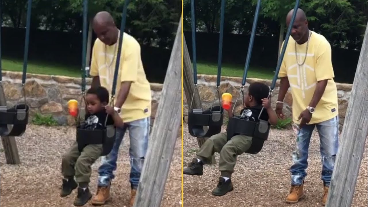 This Is How DMX Spends Family Time With His Son 'X Man Proves He Is The Best Father'