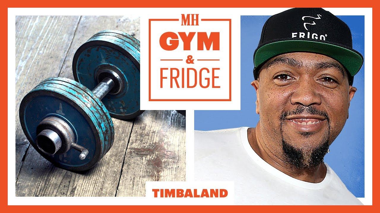Timbaland Shows His Home Gym & Fridge   Gym & Fridge   Men's Health