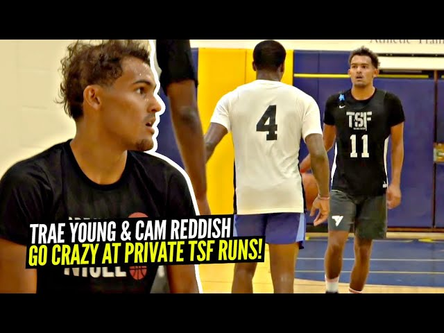 Trae Young Goes CRAZY & Turns Into ICE TRAE at TSF Private Runs!! Saucy Handles & CRAZY Range