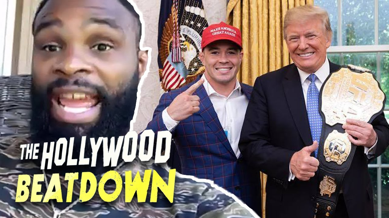 Tyron Woodley on Trump, 'I Don't Think He's Racist' | The Hollywood Beatdown