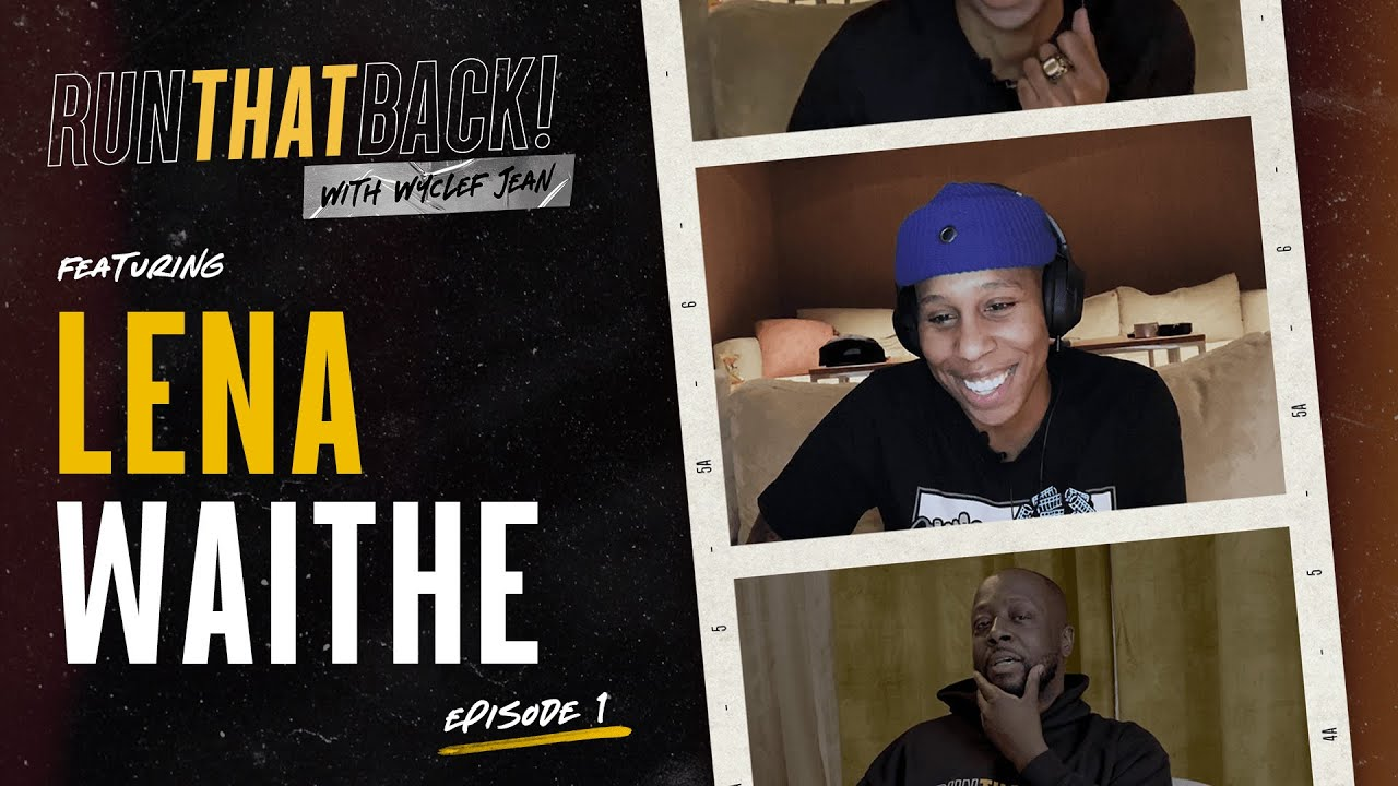 Wyclef Plays Unreleased Whitney Houston Recording for Lena Waithe | RunThatBack
