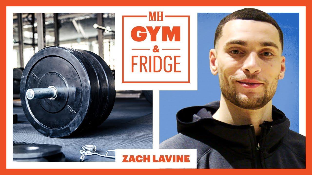 Zach LaVine Shows His Gym & Fridge   Gym & Fridge   Men's Health