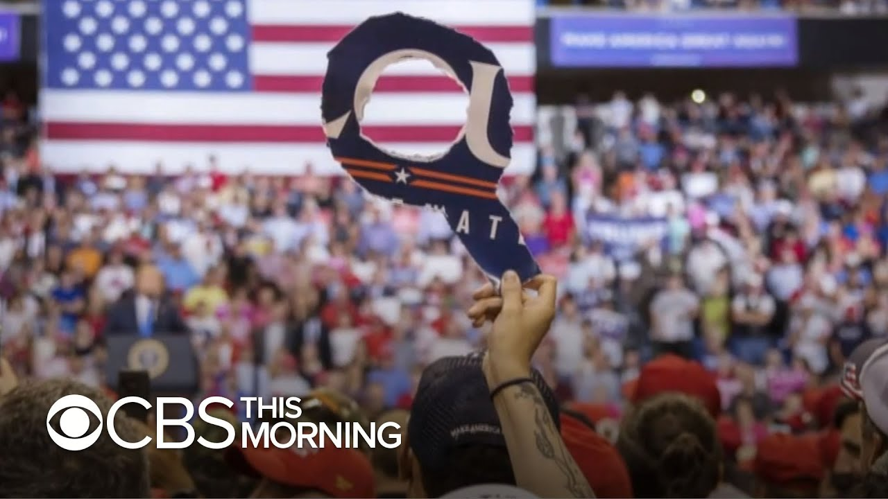 """60 in 6"" gets inside look at QAnon, speaks with a leader in the movement"
