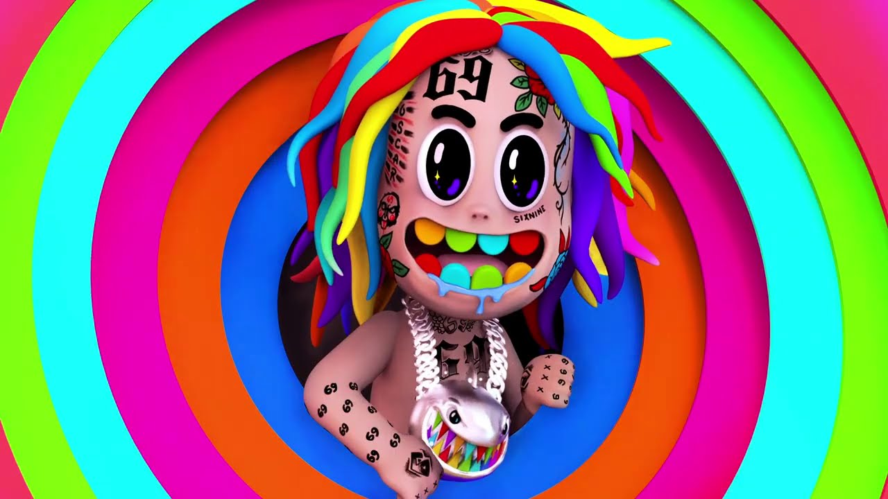 6ix9ine – NINI (Feat. Leftside) [Official Lyric Video]