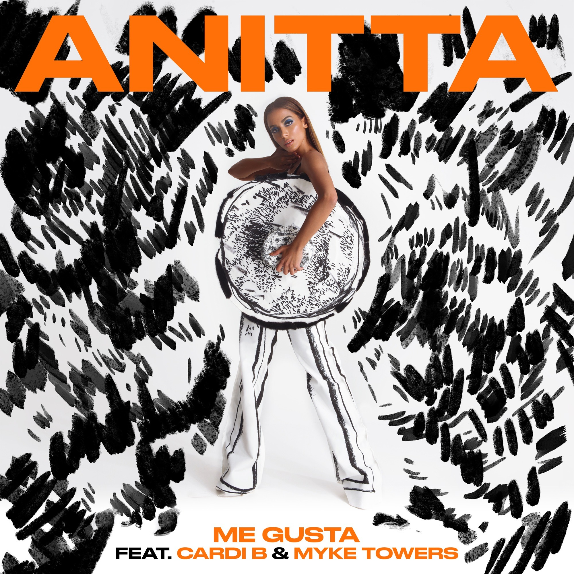 Anitta Ft. Cardi B & Myke Towers - Me Gusta