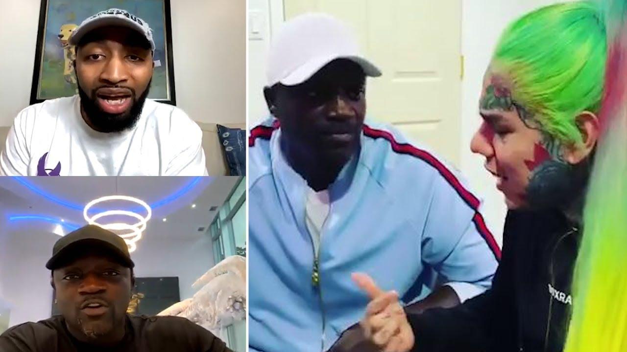 Akon & Mysonne HEATED DEBATE Over Tekashi 6ix9ine VLAD TV interview