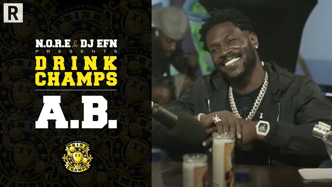 Antonio Brown Talks Tom Brady, Football Journey, Starting A Career In Music & More | Drink Champs