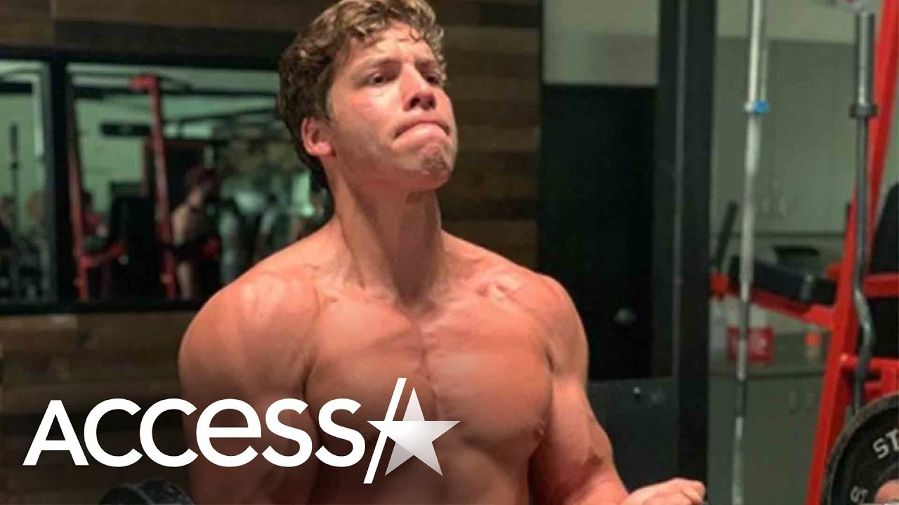 Arnold Schwarzenegger's Son Joseph Baena Has Major Muscles