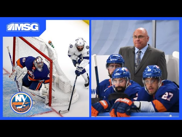 Barry Trotz Proud of Nelson and Varlamov's Leadership | New York Islanders