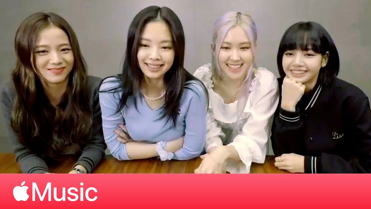 """BLACKPINK: """"Ice Cream"""" with Selena Gomez and Spreading a Message of Confidence l Apple Music"""