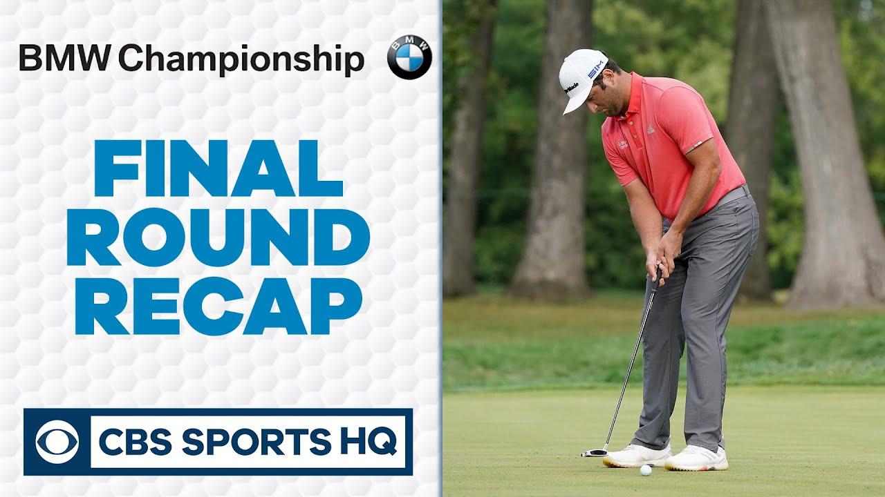 BMW Championship Recap: Jon Rahm drains insane 66-foot putt to win in a playoff | CBS Sports HQ