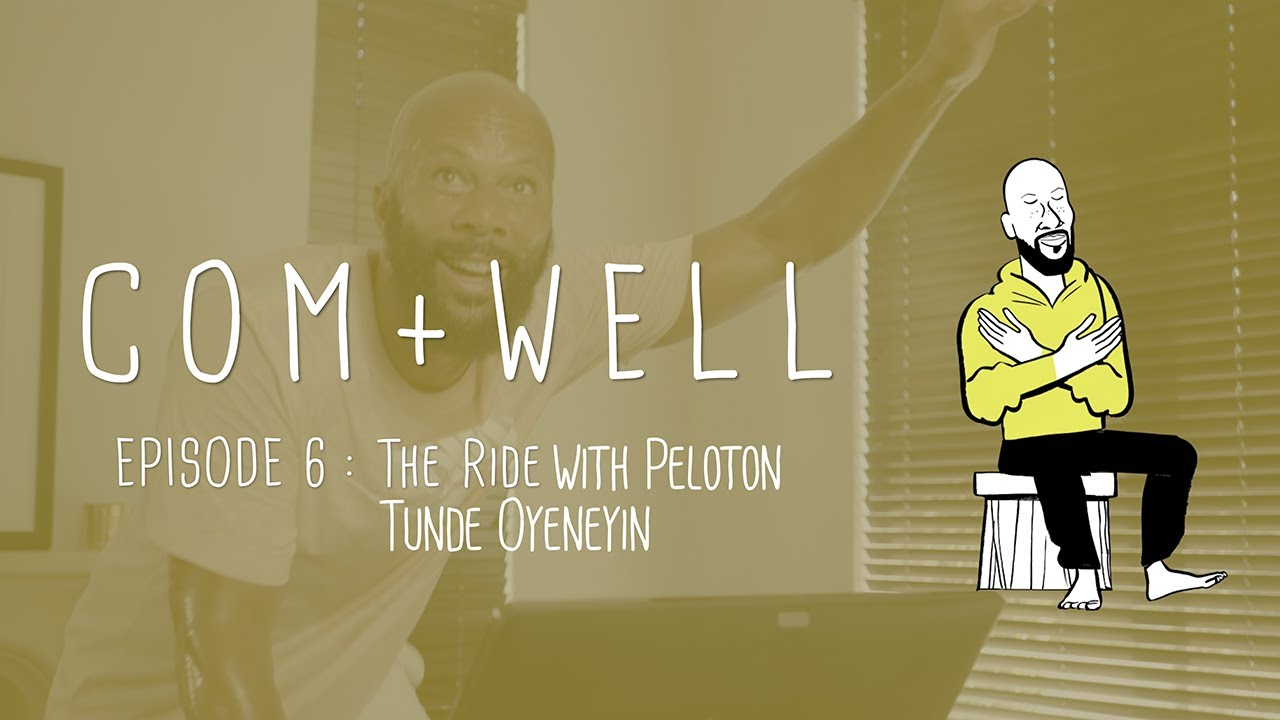 Com+Well: Common Rides with Peloton's Tunde Oyeneyin