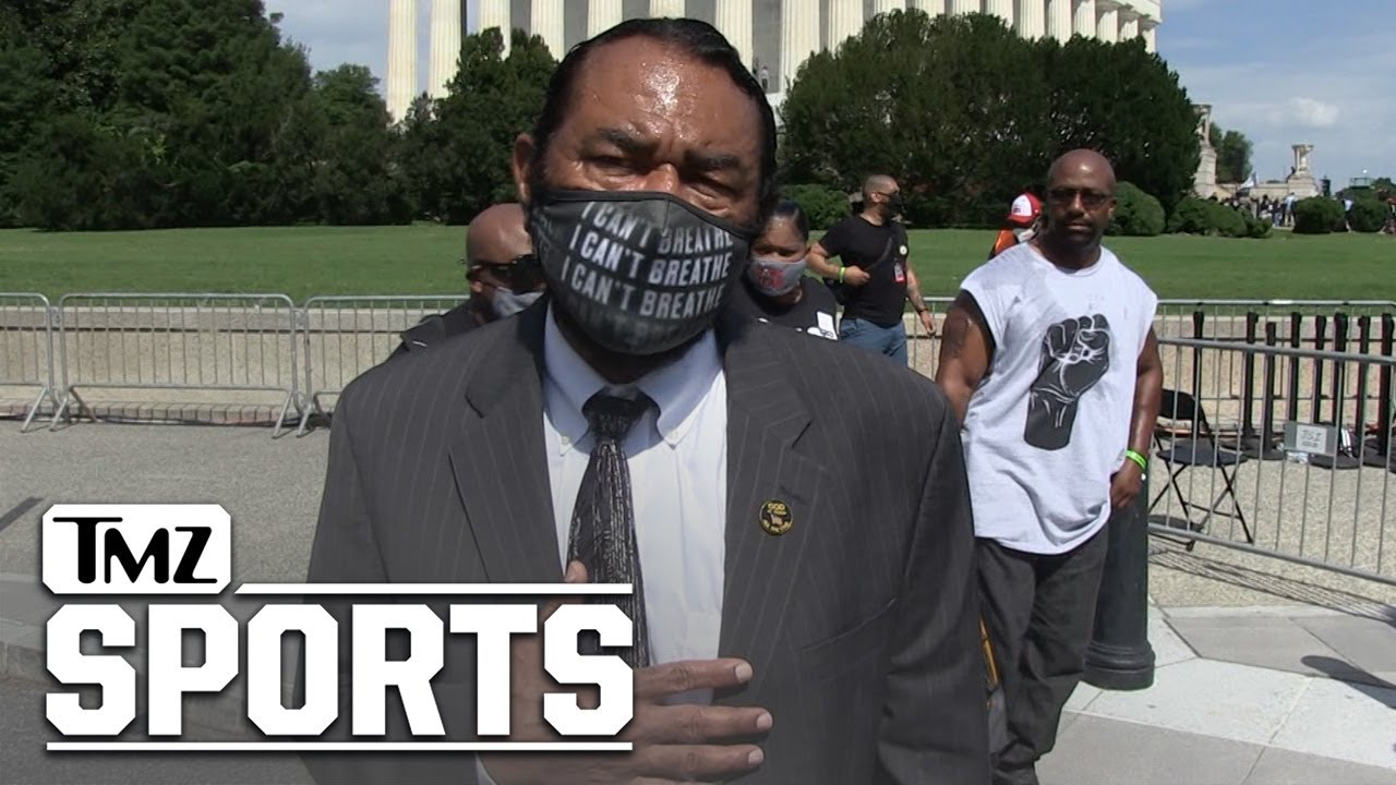 Congressman Al Green Was Also Out At The Get Your Knee Off Our Necks Rally In D.C.   TMZ Sports