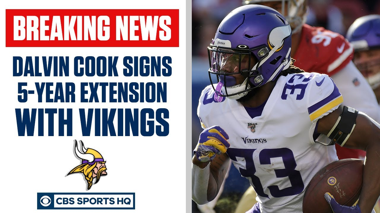 Dalvin Cook AGREES to a FIVE YEAR extension with Vikings | CBS Sports HQ