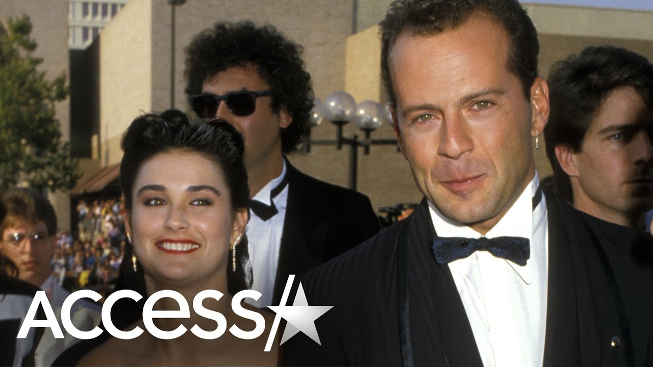 Demi Moore Posts Iconic Emmys Throwback Pic With Ex-Husband Bruce Willis