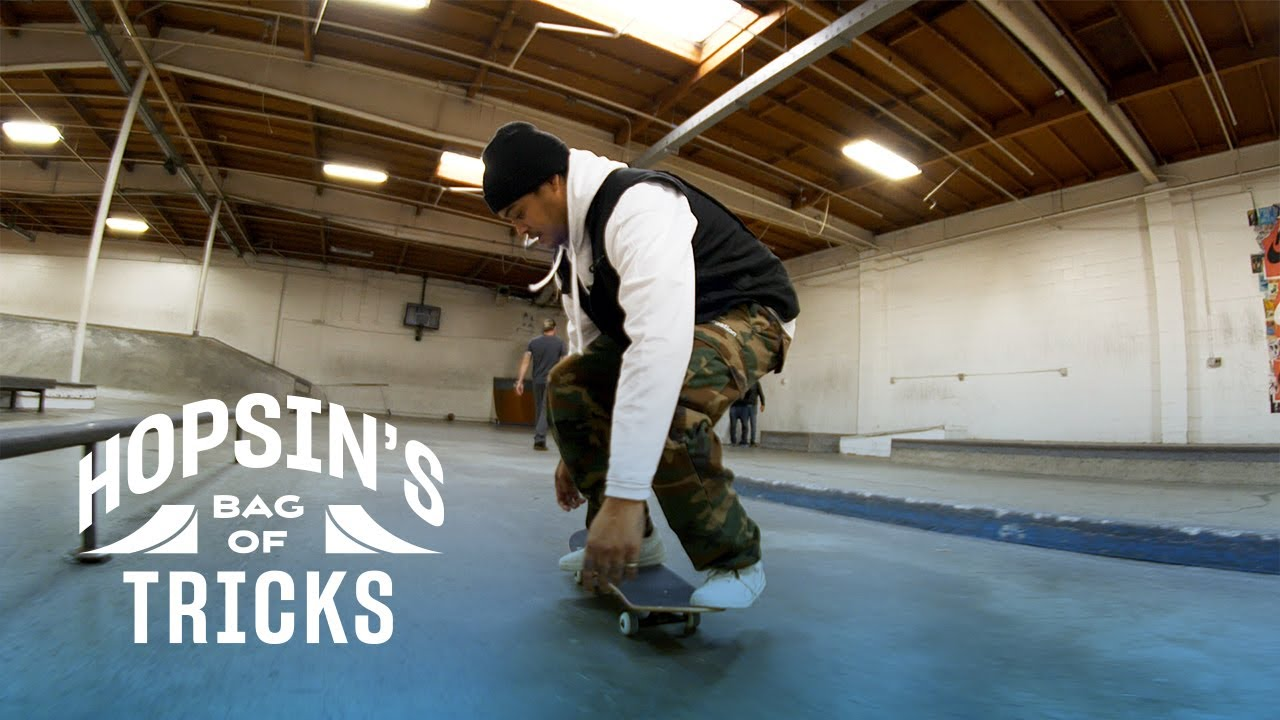 Does Hopsin Have What It Takes To Land a Switch Front Heel?