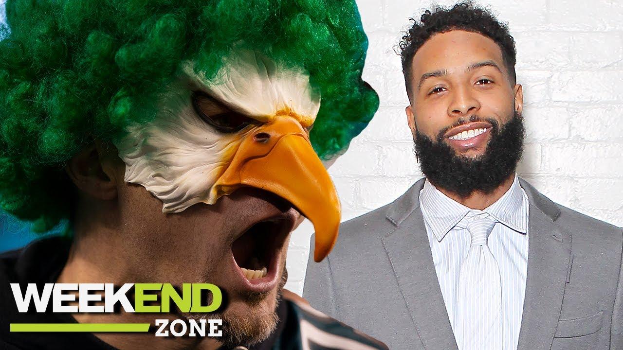 Eagles Fans Plan Drive-In Tailgate, Deion Roasts OBJ's Poop Fetish & Picks For Game Of The Week | WZ