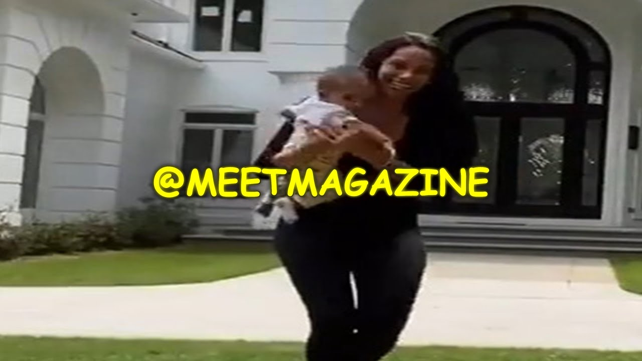 #EricaMena baby FACE REVEAL! Video dancing with #Safaree shows Isabella's face finally!