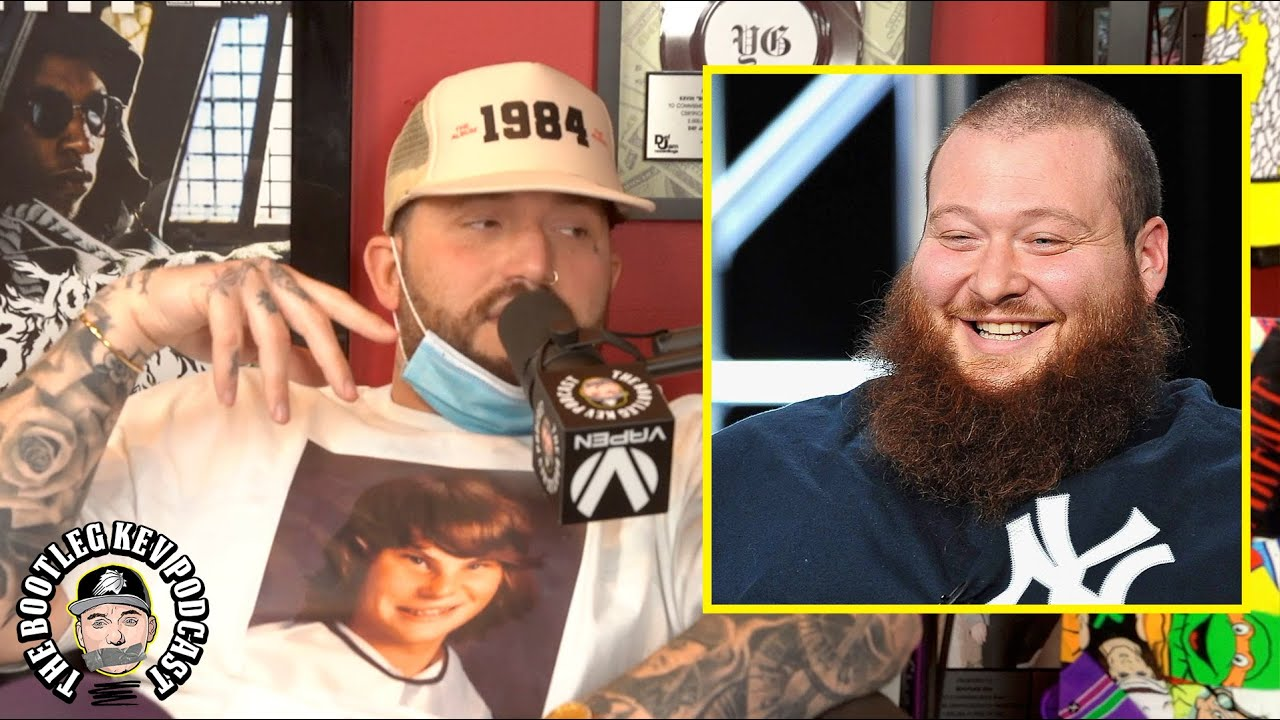 Gashi plays an unreleased Action Bronson verse from his phone (The Bootleg Kev Podcast)