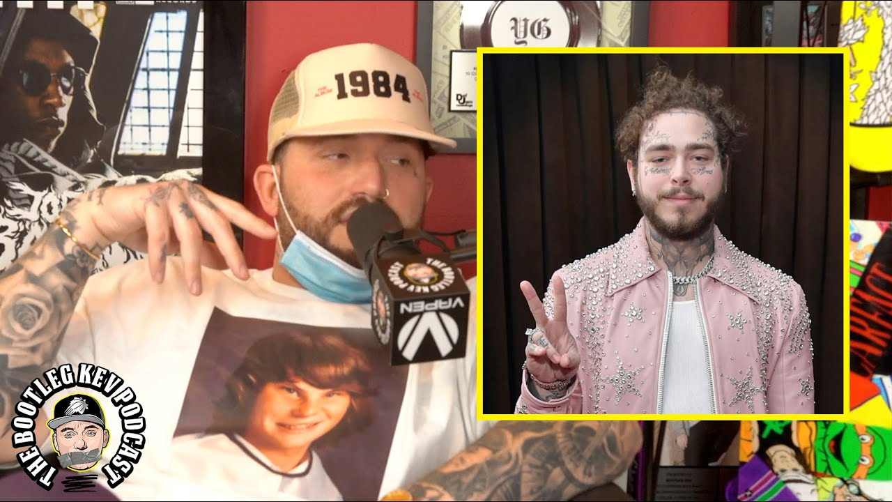 Gashi speaks on his relationship with Post Malone (The Bootleg Kev Podcast)