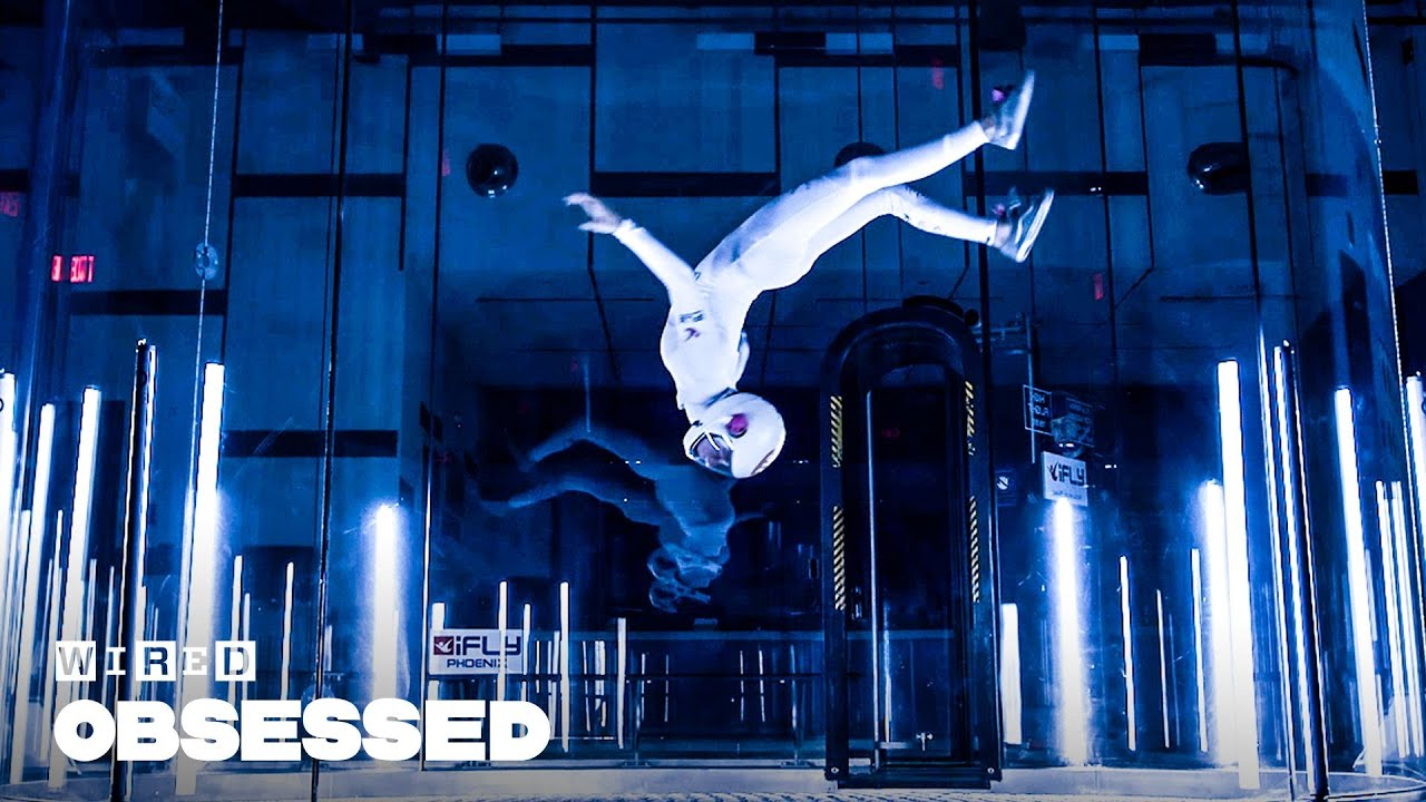 How This Girl Takes Indoor Skydiving to the Next Level   Obsessed   WIRED