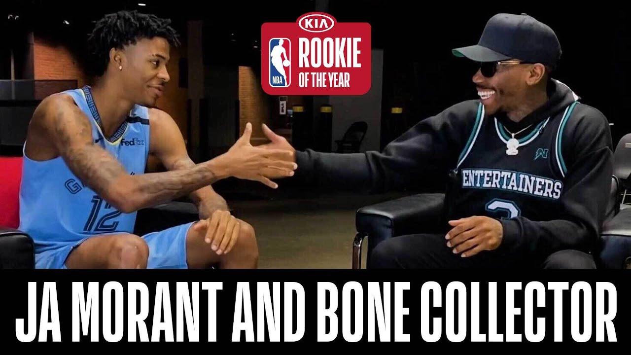 Ja Morant & @BoneCollectorUnlimited Relive His Rookie Season!
