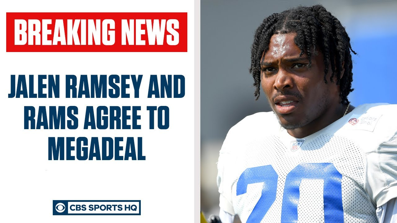 JALEN RAMSEY & RAMS AGREE TO HUGE DEAL | CBS Sports HQ