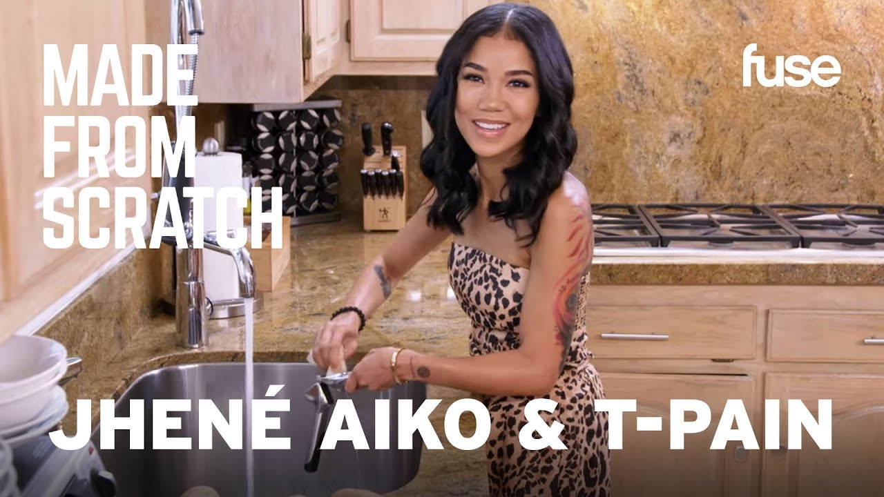 Jhené Aiko & T-Pain Talk About Family While Cooking With Their Moms | Made From Scratch | Fuse