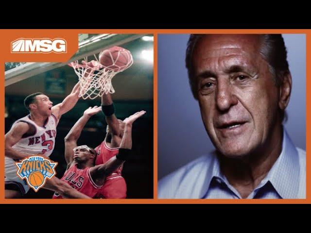 John Starks' Dunk Over Michael Jordan In 1993 Playoffs | New York Knicks Greatest Moments