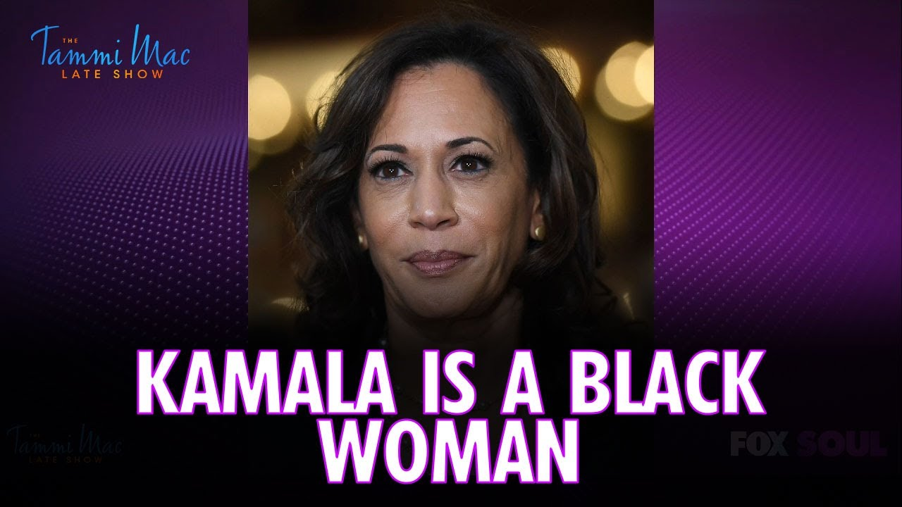 """Kamala Harris is a Black Woman but NOT an African American Woman 