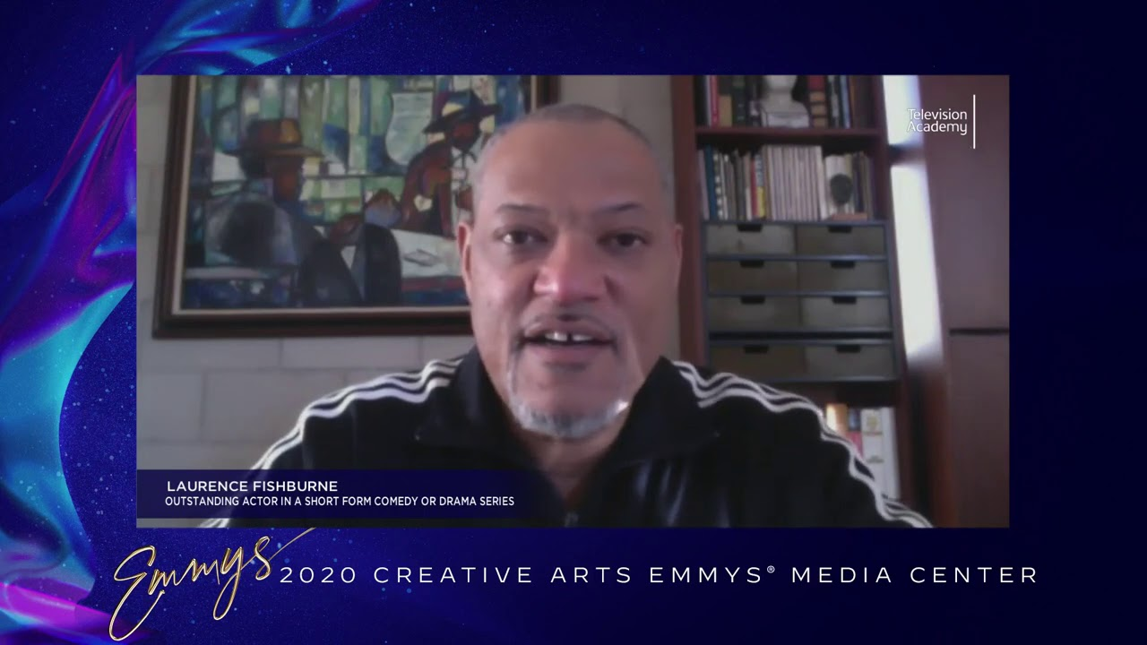 Laurence Fishburne - Creative Arts Emmys 2020 Interview