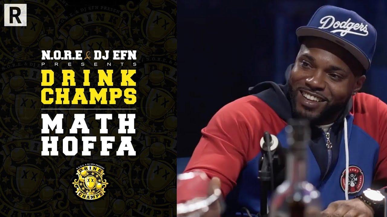 Math Hoffa Talks JAY-Z & Nas Battle, His Journey, The Business In Battle Rap, & More | Drink Champs