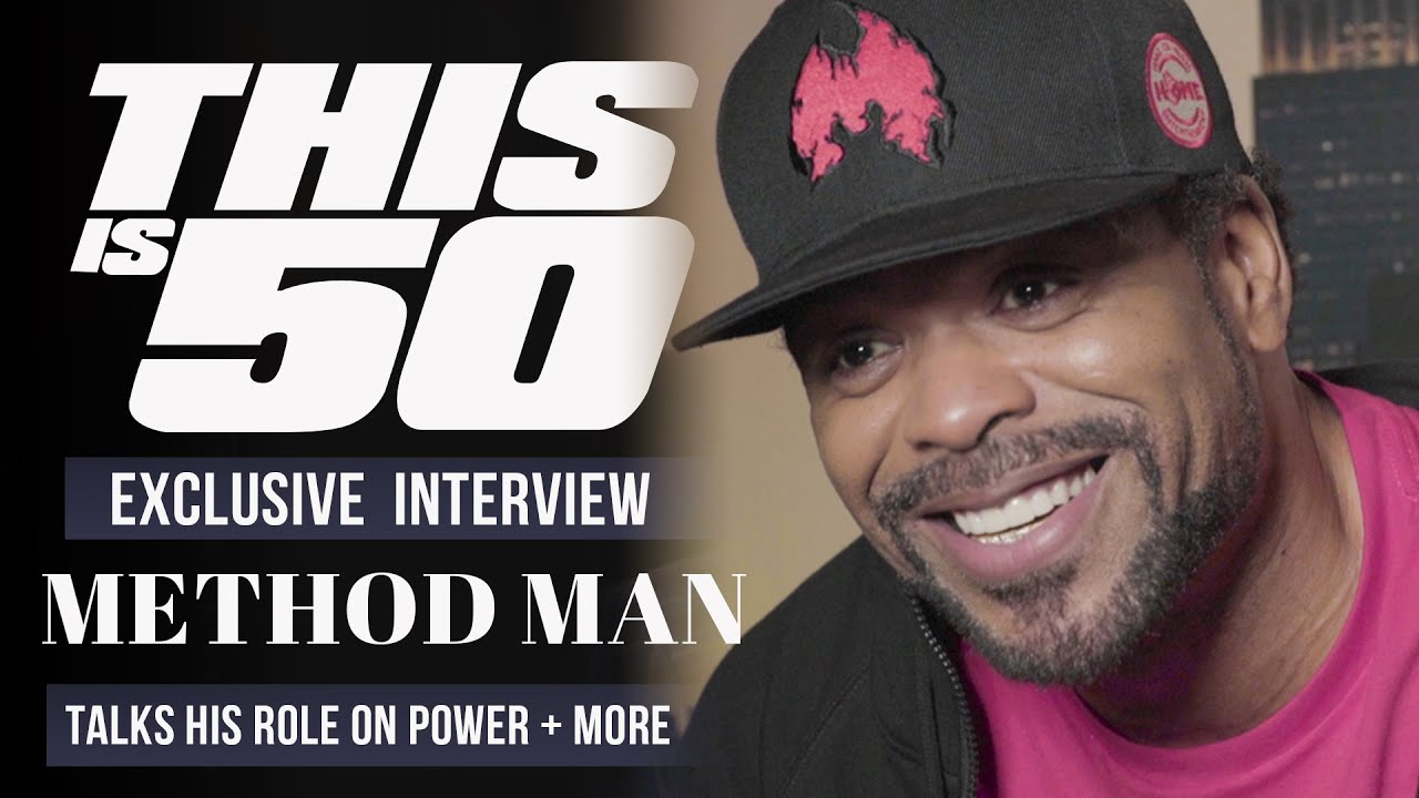Method Man Talks Working w/ 50 Cent; Starring in POWER, Wu-Tang Classics, How High 2 + More