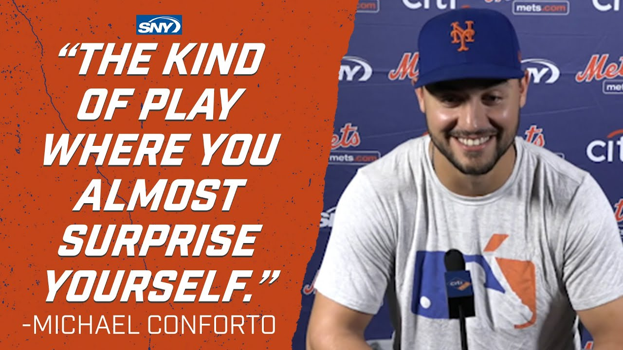 "Michael Conforto ""almost surprised himself"" making blockbuster catch 