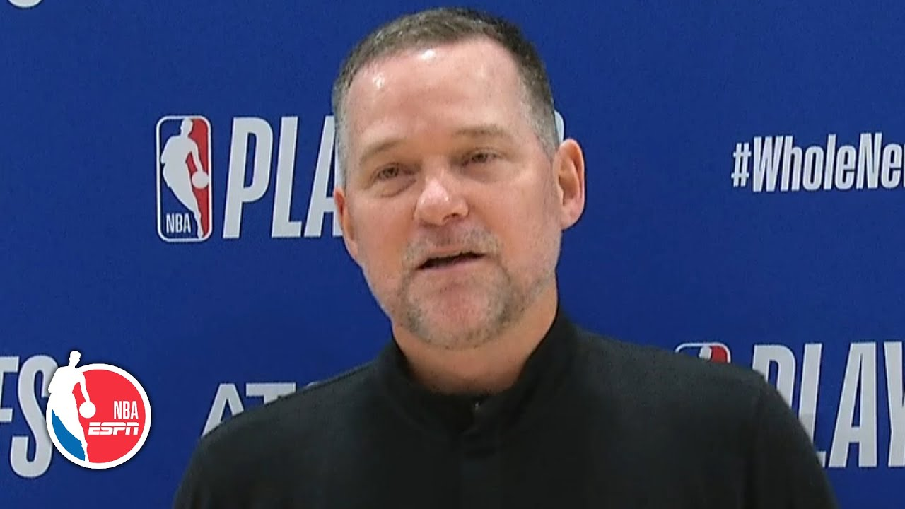 Mike Malone ready to go party in the bubble after Nuggets' Game 7 win | 2020 NBA Playoffs
