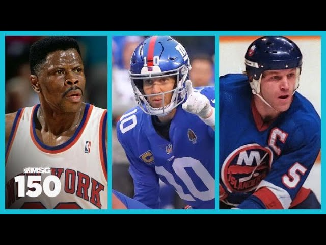 New York's Best No. 1 Pick Ever: Patrick Ewing, Eli Manning or Denis Potvin?