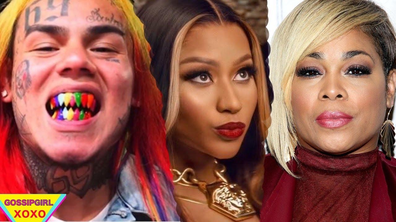 "Nicki Minaj gets Shaded by 6ix9ine, T-Boz ""Jermaine Dupri didn't make me"", Chris Rock Expose Naomi"
