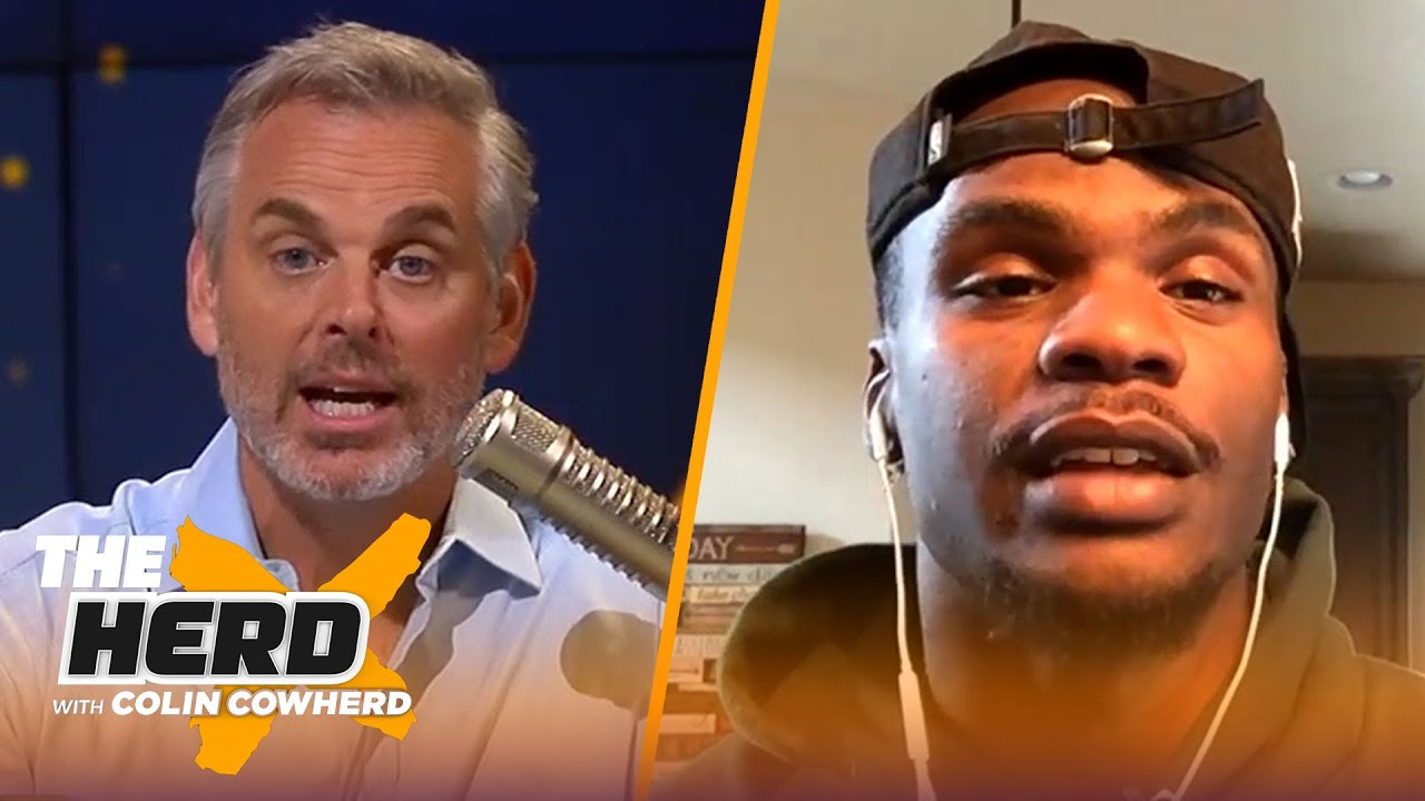 Packers WR Marquez Valdes-Scantling on playing with Aaron Rodgers & Davante Adams   NFL   THE HERD