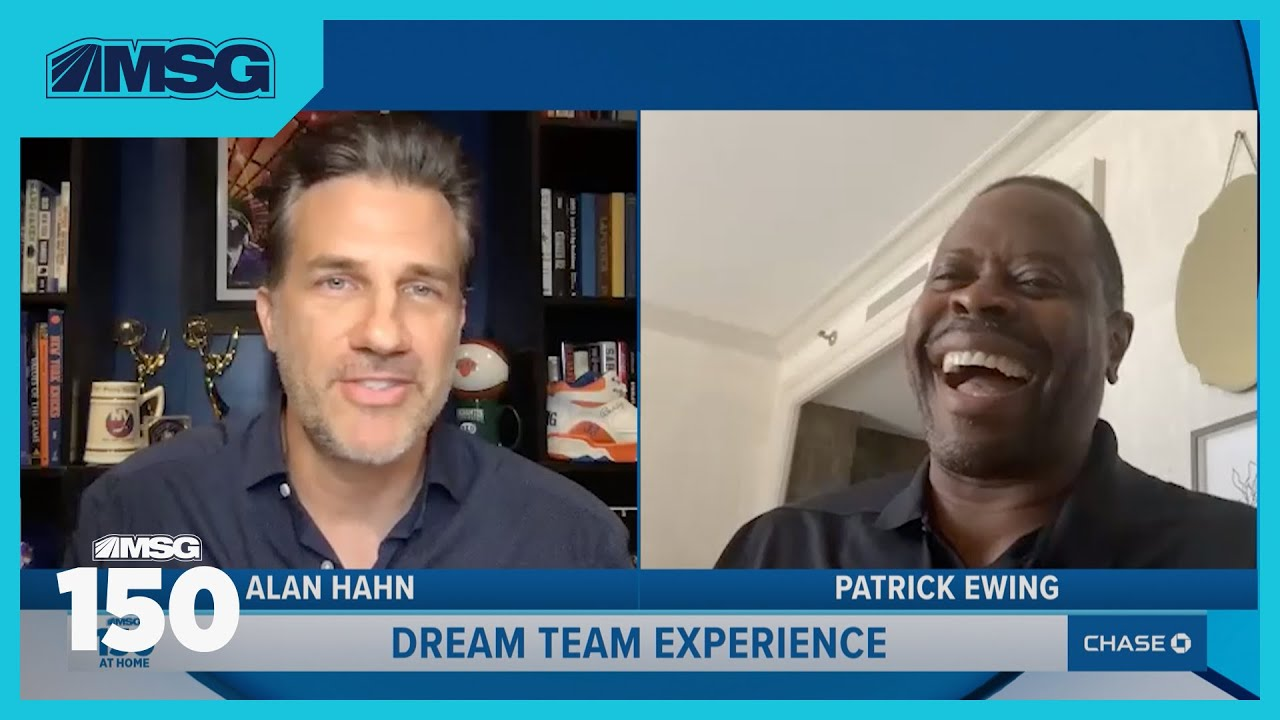 Patrick Ewing Talks Favorite Knicks Memories From 1985 Draft To Best Playoff Moments | MSG 150