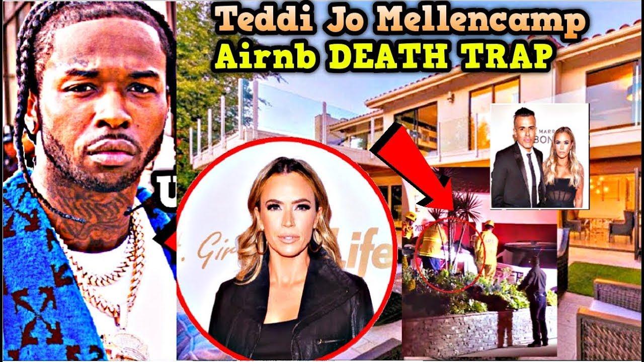 TEDDI MELLENCAMP HOUSE WHERE POP SMOKE WAS KILLED SELLS FOR MILLIONS (WATCH NOW) #POPSMOKE