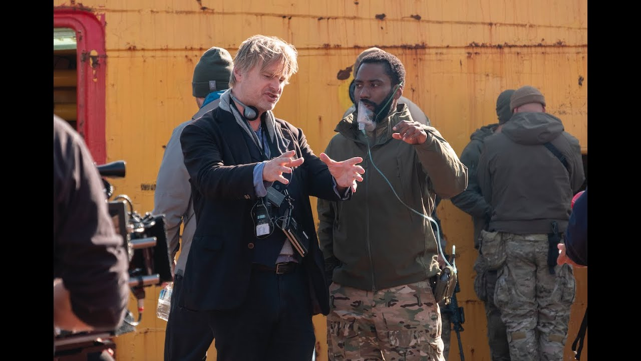 Tenet Interview with John David Washington and Christopher Nolan