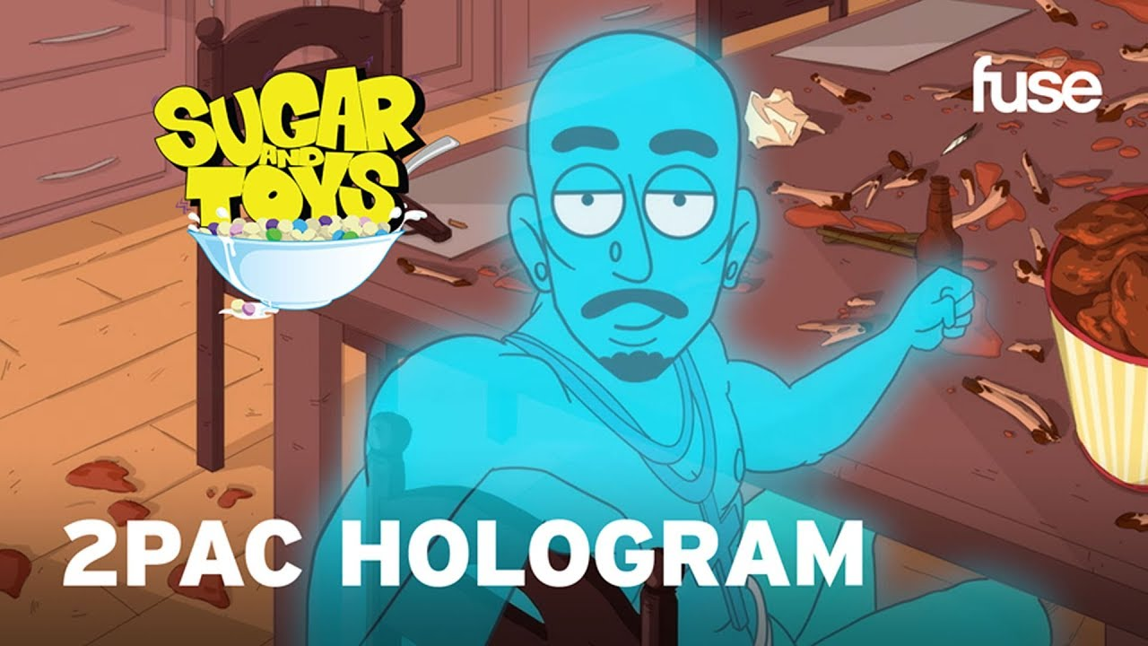The 2Pac Hologram Brings Trouble to The Hendersons' House | Sugar and Toys | Fuse