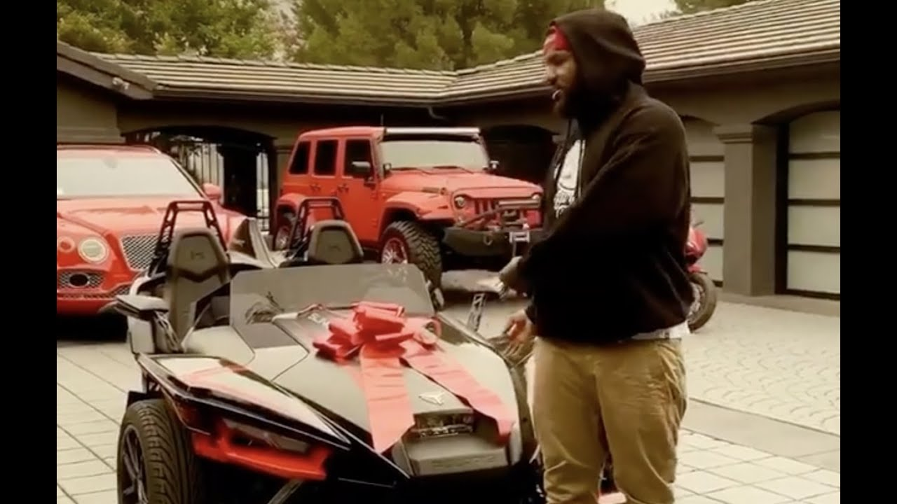 The Game Giving Away His ATV To Help Families During Pandemic